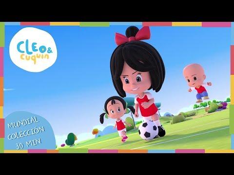 Canción Oficial en Español del Mundial Rusia 2018 - Cleo & Cuquín - Familia Telerín.