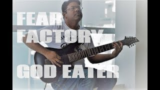 Fear Factory God Eater Cover with tabs