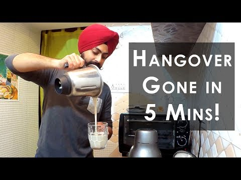 Best Pre Workout Shake Recipe | Great Hangover cure too!