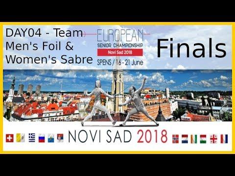 European Championships 2018 Novi Sad Day04 - Finals