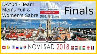European Championships 2018 Novi Sad Day04 - Finals