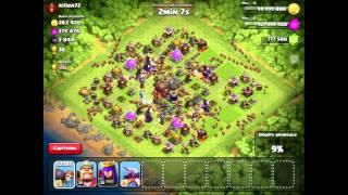 Spécial 100 Abonnés ! Full casse Brique + Full sorciers sur des max bases | Clash of Clans