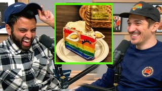 Here's Why Dessert is Gay | Andrew Schulz and Akaash Singh