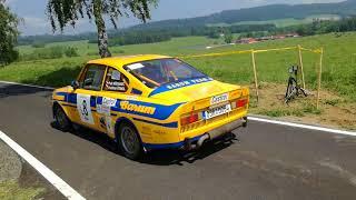Rally Český Krumlov 2018 - legendy, prujezdy cílem RZ9
