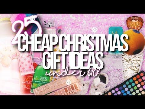 25 CHEAP CHRISTMAS GIFT IDEAS UNDER $10! // Christmas Wishlist 2016