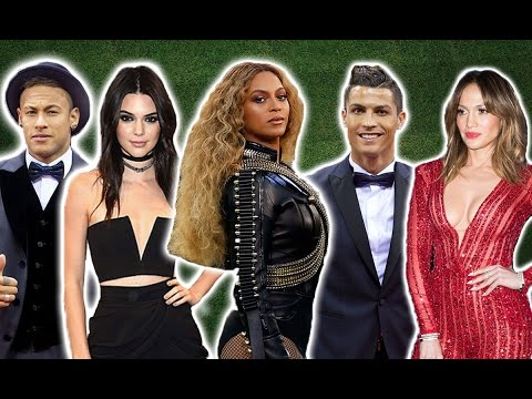 50 Footballers Who Met Famous Celebrities | Part Two
