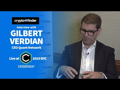 Is interoperability actually possible? Gilbert Verdian CEO Quant Network Interview