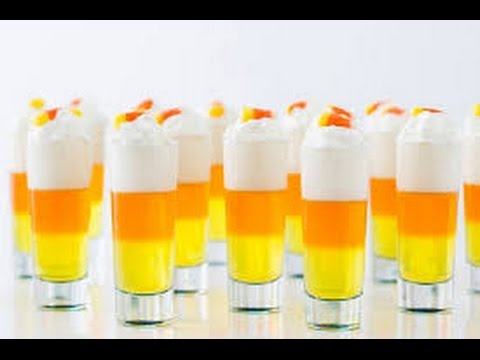 Orange Jello Shots With Rum And Wipped Cream!!! By Anything To Make