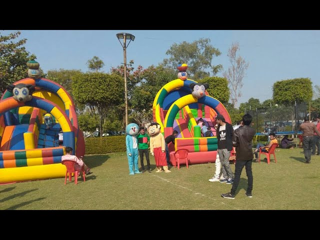 Kids Zone Set up in Indore Bounce setup for society Event and Birthday party indore 09891478560