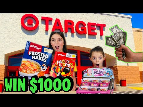 FIRST ONE TO FINISH the SHOPKINS REAL LITTLES Shopping Challenge WINS $1000!!! Who Cheated?!