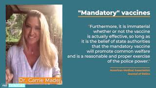 Freedom is A Human Right, Dr  Carrie Madej IMPORTANT message about TRUTH AND FREEDOM