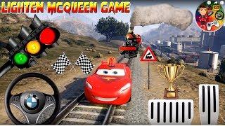 McQueen Cars 3 Disney Game / Lightning McQueen Mountain Road Race Blitz McQueen Gebirgsstraßenrennen