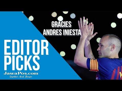 Barcelona Jersey Baru, Perpisahan Andres Iniesta