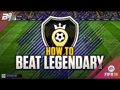 HOW TO BEAT LEGENDARY IN SQUAD BATTLES! | FIFA 18 ULTIMATE TEAM