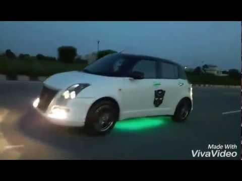 Swift Car modified From Kapurthala city Punjab