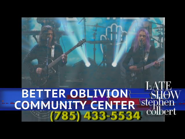 Better Oblivion Community Center Performs 'Dylan Thomas'