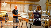 Off-grid, handcrafted life on Oregon farm & workshop
