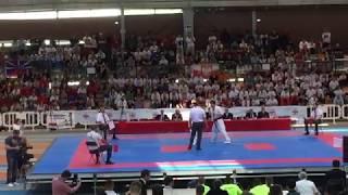 EC IKO 2017 final  -70kg Kotov Andrey (Kazakhstan) vs Iunusov …