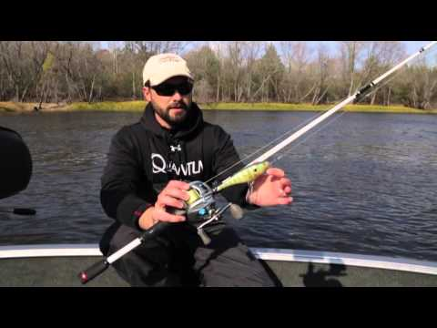 Light tackle muskie fishing youtube for Musky fishing reels