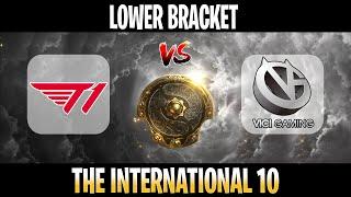 T1 vs Vici Gaming LIVE ALL GAMES | BO3 | Lower Bracket The International 10 2021 TI10 | DOTA 2 LIVE