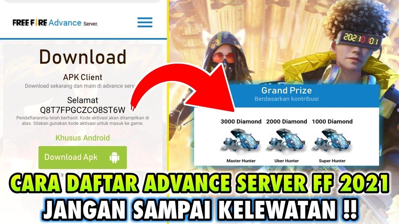 Cara Masuk Advance Server Ff Terbaru Januari 2021 Garena Free Fire Youtube