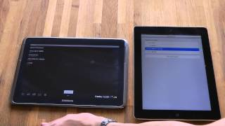 Samsung Galaxy Note 10.1 vs. Apple iPad 3rd-Generation - Geekbench Benchmark Test