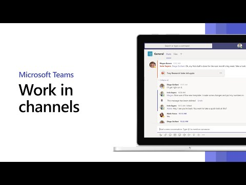 How To Work In Channels In Microsoft Teams