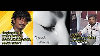 Gana Sudhakar best love failure song(plz subscribe friends)