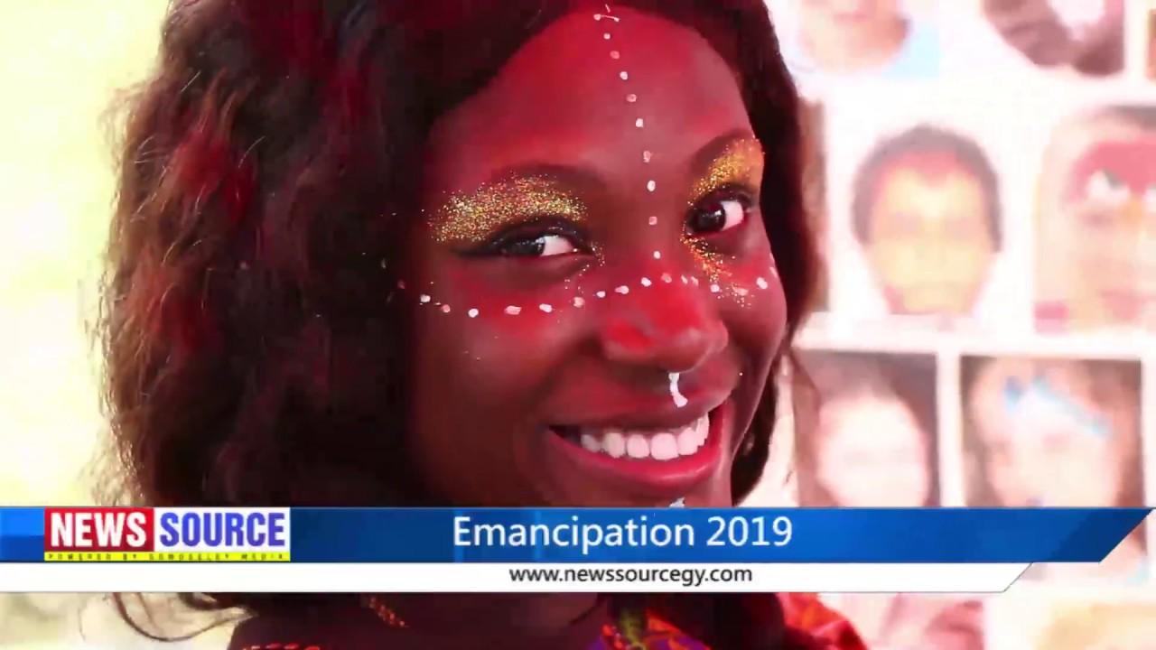 Emancipation day 2019 Guyana