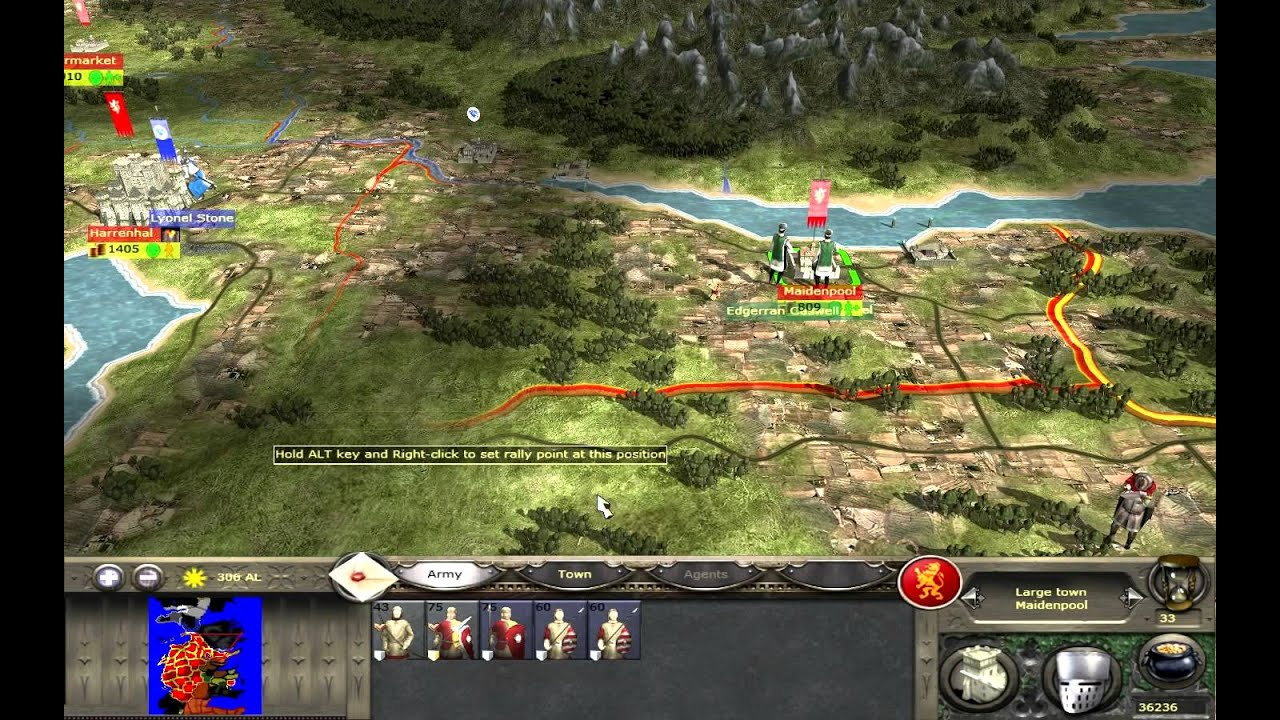 "Westeros Total War ""2011"" Lannister Dominion HD - YouTube