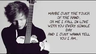 Thinking Out Loud - Ed Sheeran - Lyrics [ 1 Hour Loop - Sleep Song ]