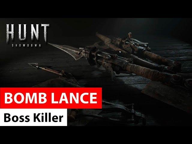 Bomb Lance - Hunt: Showdown / копье, метающее гарпуны со взрывчаткой