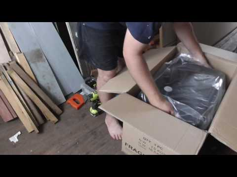 Kitchen Area Prepping and Gas Stove Unboxing