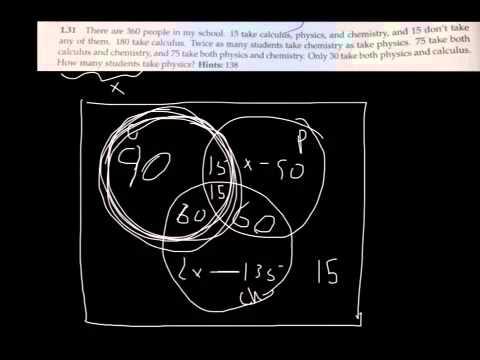 Venn Diagram With Algebra Youtube