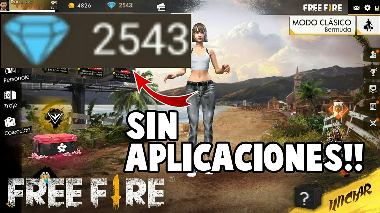 Diamantes Gratis Sin Aplicaciones Free Fire Youtube