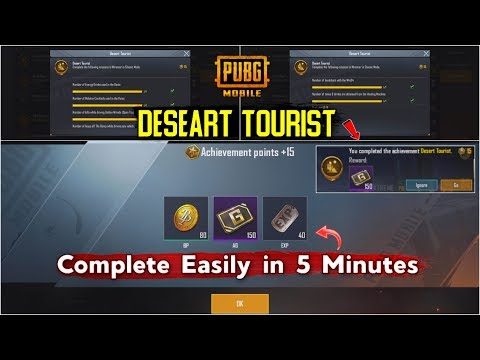 How to Complete Desert Tourist Achievement in Miramar PUBG Mobile | RK Gaming