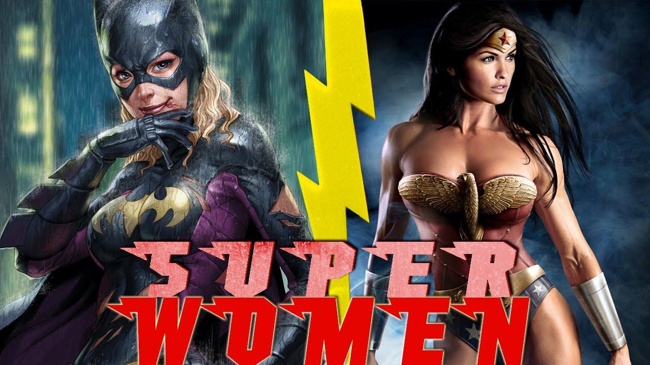 top 5 female superheroes ever youtube
