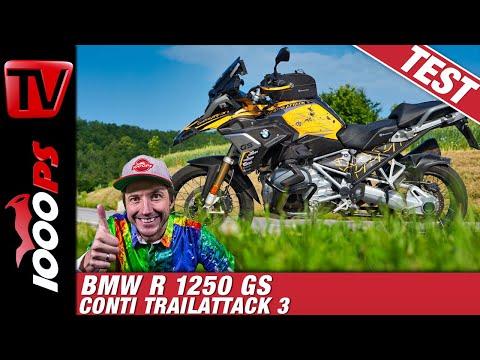 BMW Attack GS im Test - der 1000PS R 1250 GS Umbau zeigt was er kann! Mit BOS Sound