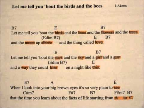 let me tell you about the birds and the bees