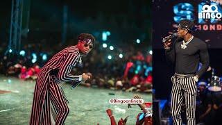 Huu Ndio UNYAMA wa DIAMOND Kwenye Stage ya Wasafi Festival Mwanza/Afanya Show Masaa 3