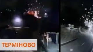 Удар с РПГ. В Мукачево из гранатомета обстреляли комплекс Аква Сити