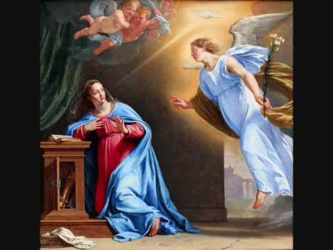 Tamil Rosary : First Joyful Mystery - The Annunciation