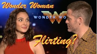 Gal Gadot and Chris Pine AMAZING chemistry on Wonder Woman!