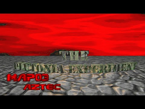Final Doom: The Plutonia Experiment - Map03: Aztec (100%) [DOSBox] |