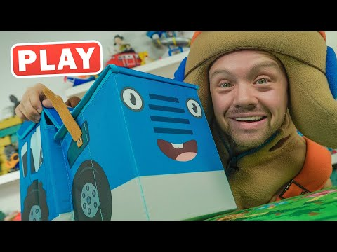КукуPlay - РАСПАКОВКА Игрушки из Синего Трактора - Поиграйка с Пилотом Винтиком