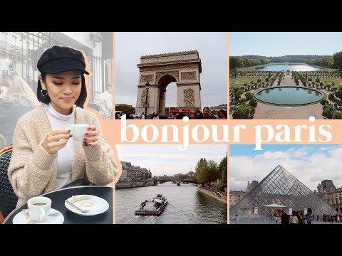 BONJOUR PARIS   Paris Travel Vlog