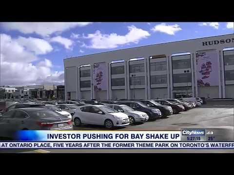 Hudson's Bay stock jumps after major investor proposes big changes
