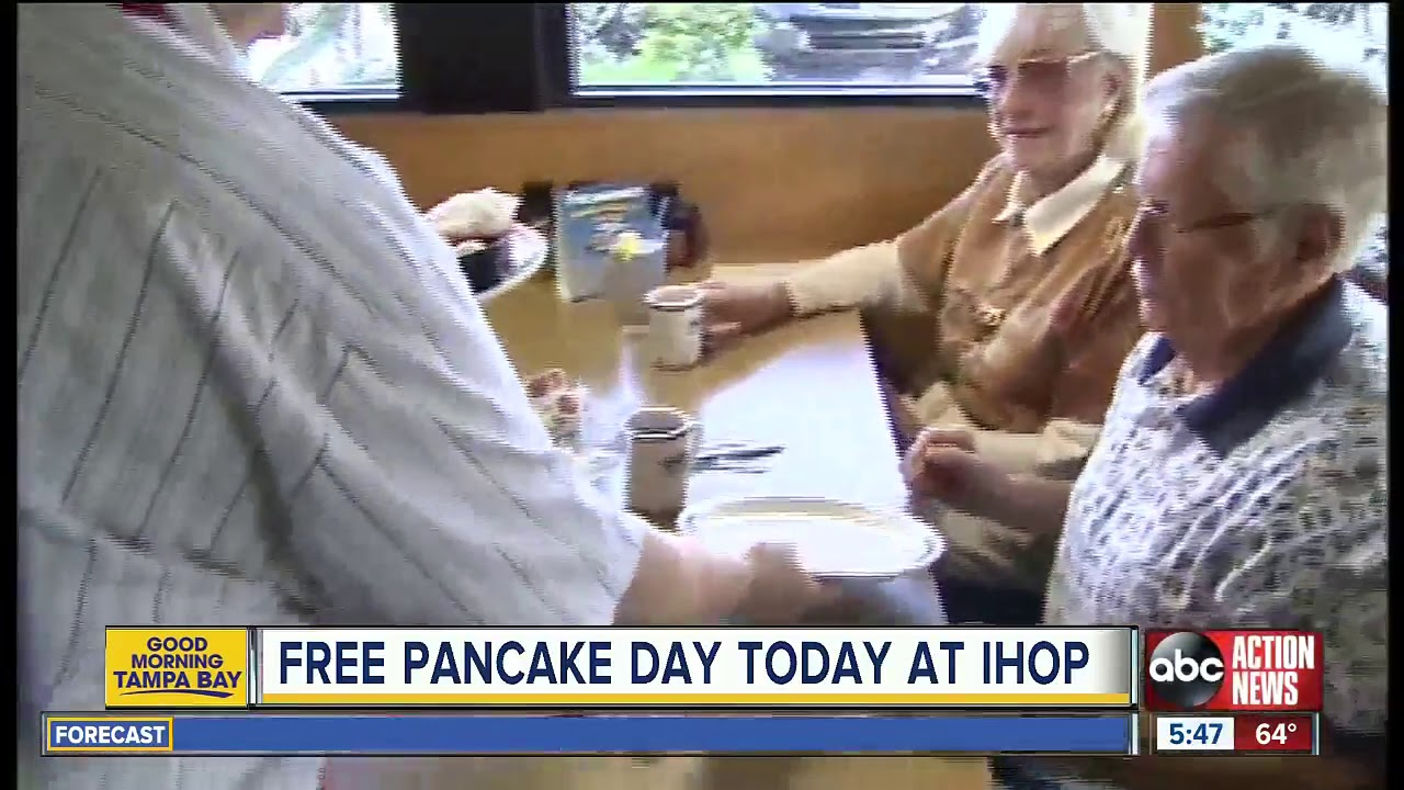 IHOP Giving Away Free Pancakes All Day