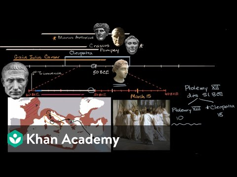 Caesar, Cleopatra and the Ides of March | World History | Khan Academy