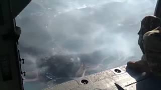 Aerial footage shows widespread devastation around Gatlinburg